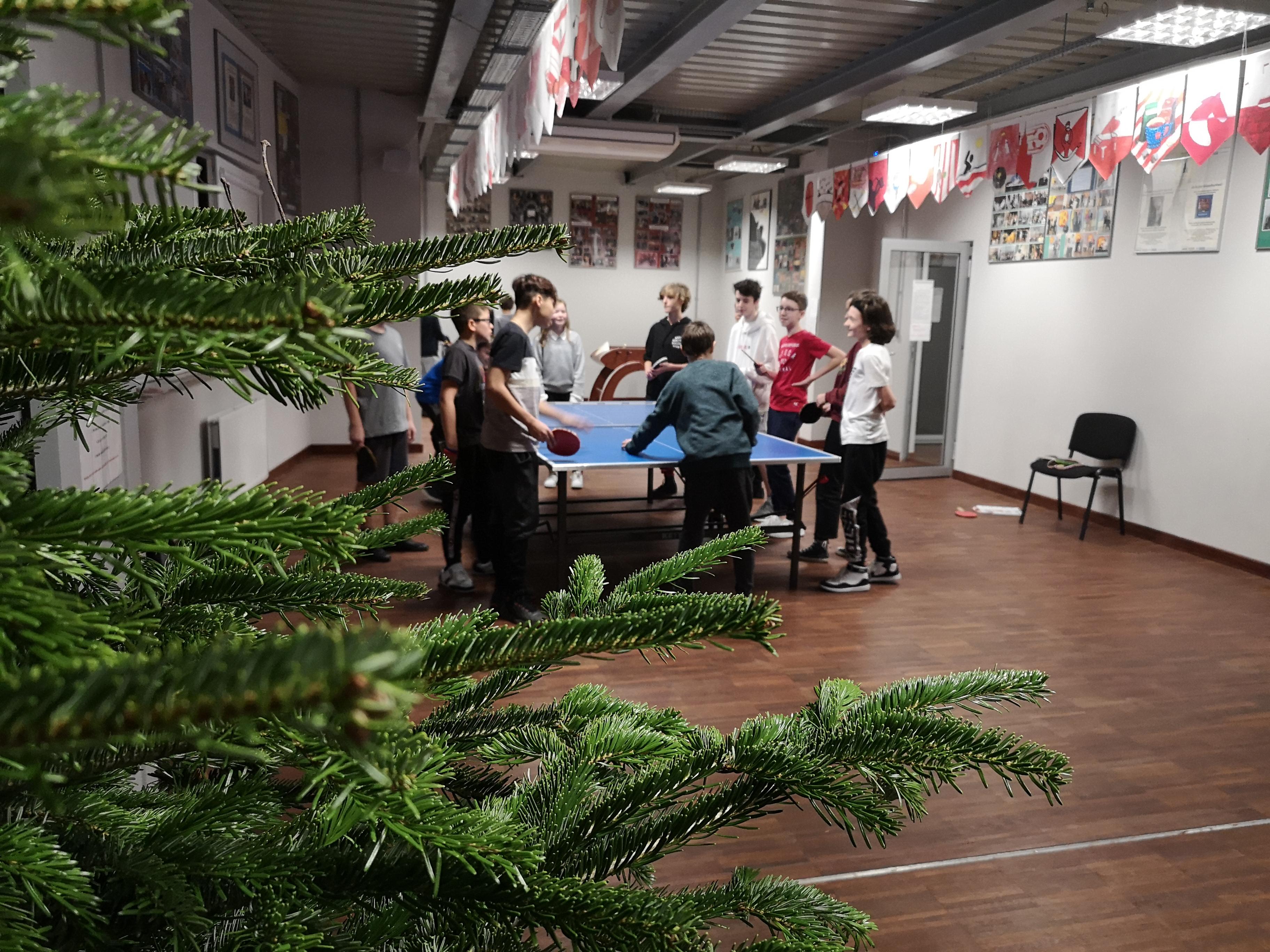 Mikołajkowy turniej tenisa stołowego