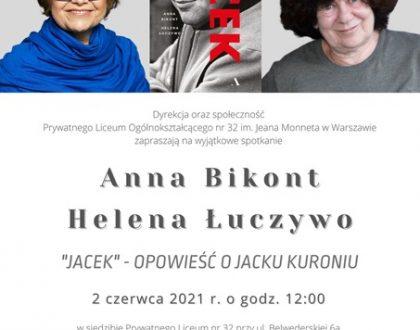 Spotkanie bardzo cool(turalne) z Anną Bikont i Heleną Łuczywo