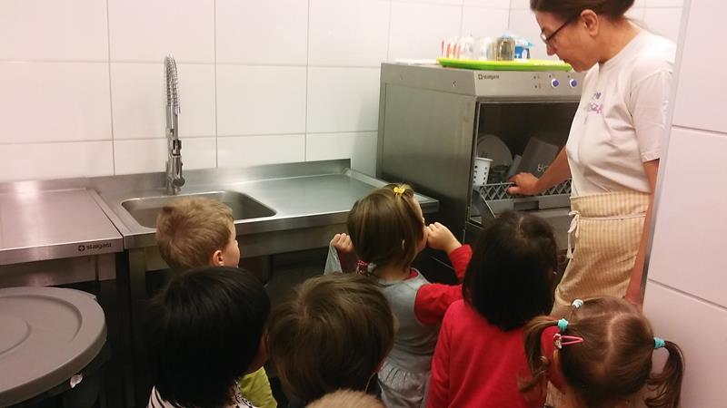 Ciasteczka i wizyta w kuchni