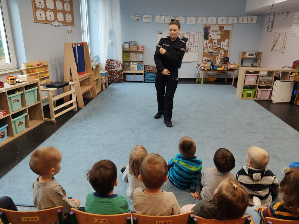 Meeting with the police officer