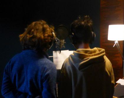 """Słuchowisko """"Współczesna opowieść wigilijna"""" w studiu ORKA"""