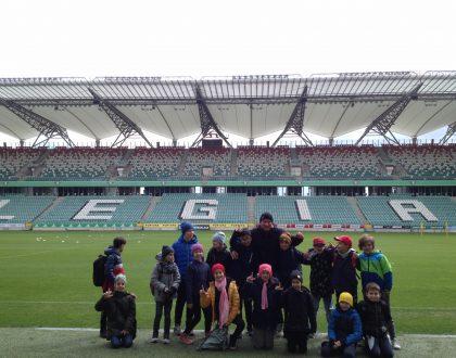 Wycieczka klasy IV B na Stadion Legii