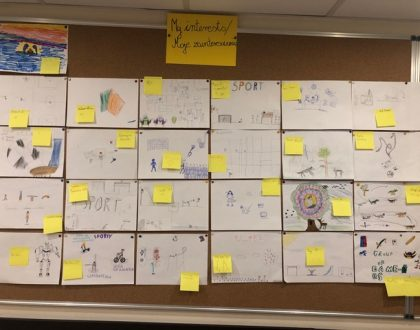 The first month of the PYP Exhibition