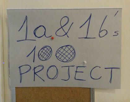 """Projekt matematyczny """"100"""""""