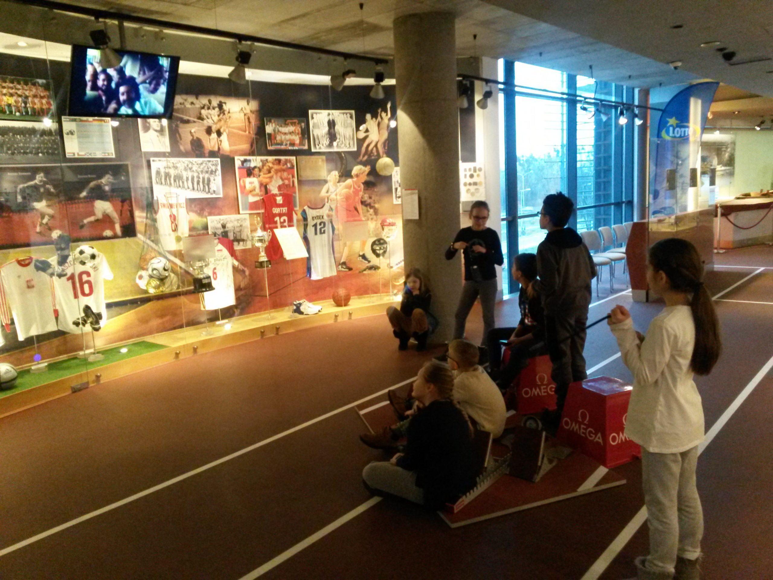 W Muzeum Sportu i Turystyki