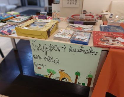 Garage Sale - support Australia with WAG