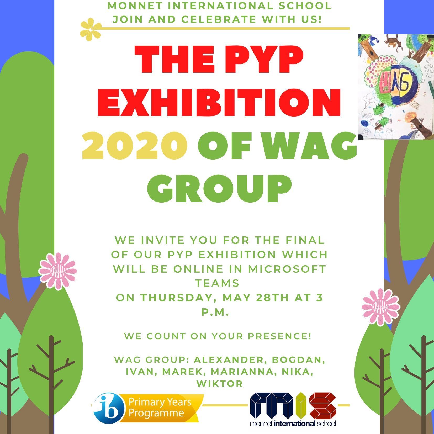 Zaproszenie na Wystawę PYP